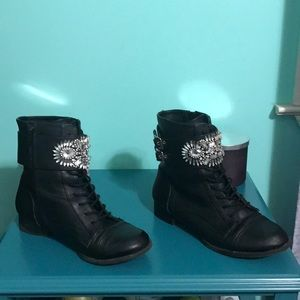 af51e47a72e GB Girls by Dillards Shoes - GB Girls Dillard s Booties 💎💎💎 Rhinestones